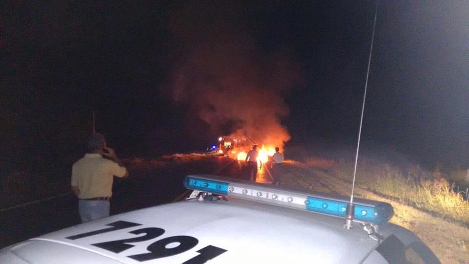 Accidente villa del rosario muere policía