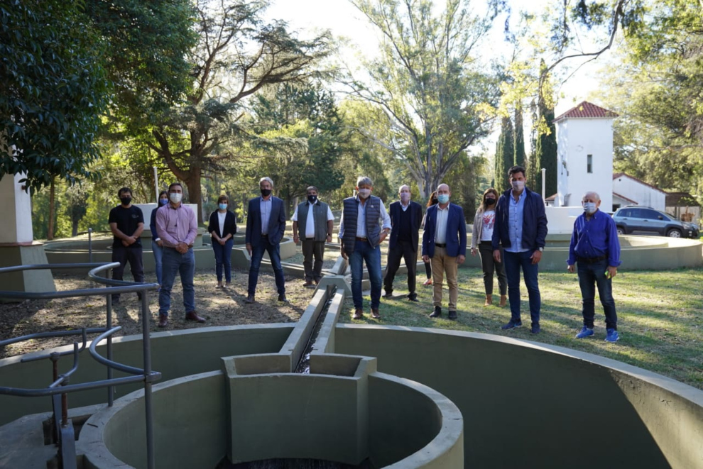 Schiaretti habilitó obras de mejoras hídricas y cloacales en Embalse
