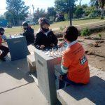 Las Varillas inauguró la plazoleta del ajedrez