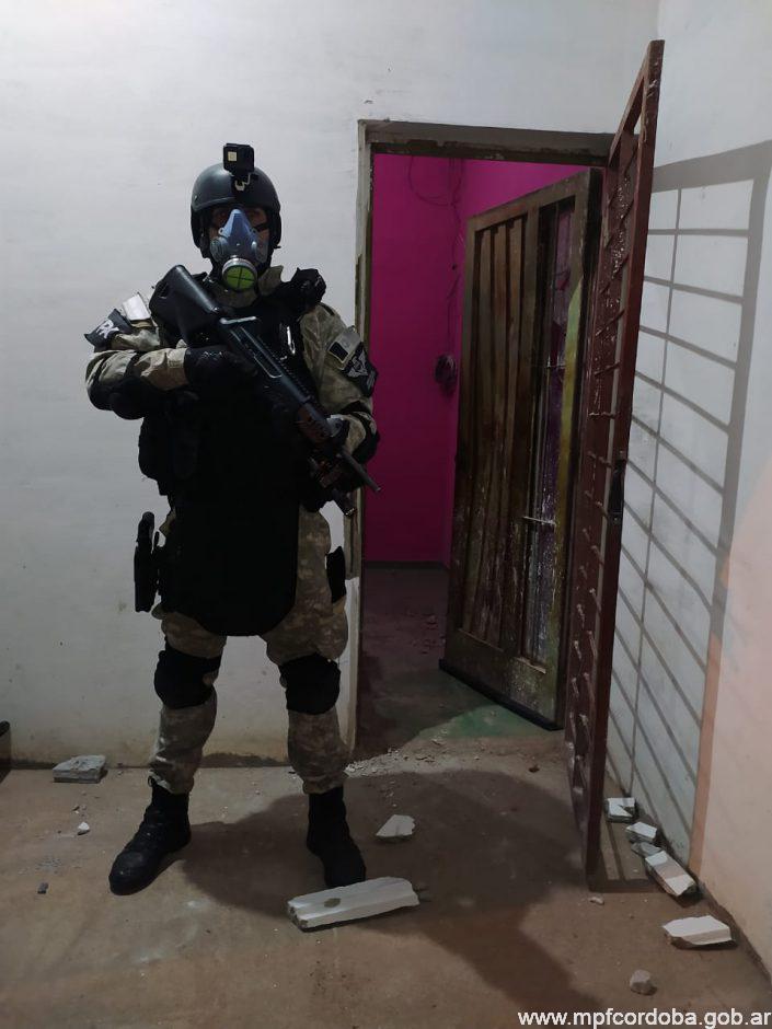Detuvieron a una pareja en Pilar por venta de drogas