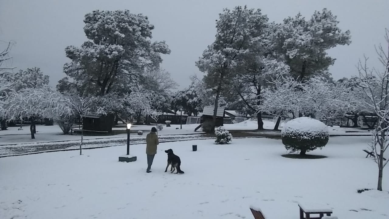 Otra histórica nevada en la provincia de Córdoba