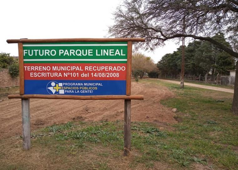 La Para inicia las obras en el futuro Parque Lineal