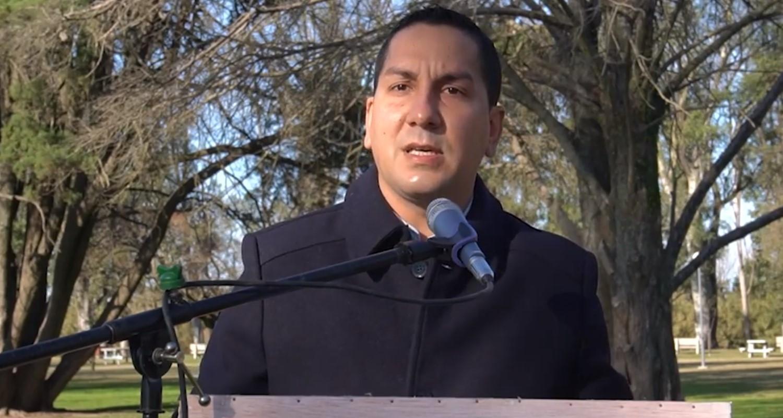 El intendente Agustín González presidió el acto