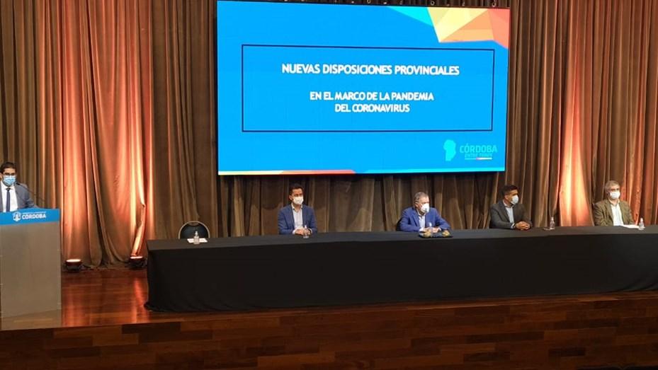 nuevas restricciones en Córdoba por los próximos 14 días