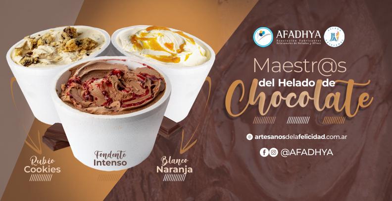 En esta campaña se unen los Maestr@s del Helado para llevar a todo el país los nuevos sabores de chocolate de la temporada invierno.