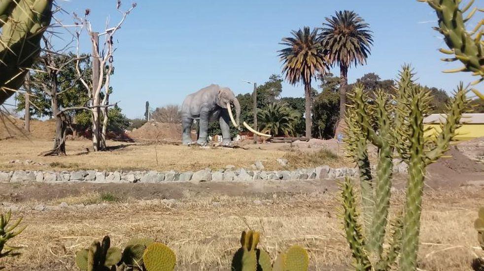 La Para avanza en la construccion del primer parque del Plesteceno del país