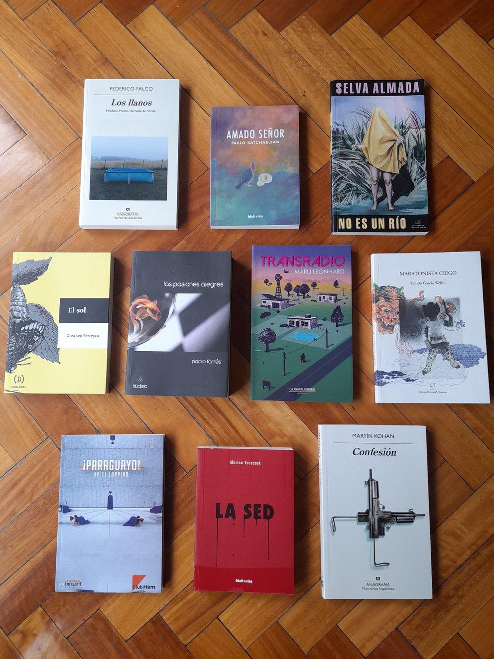 Las 10 novelas finalistas