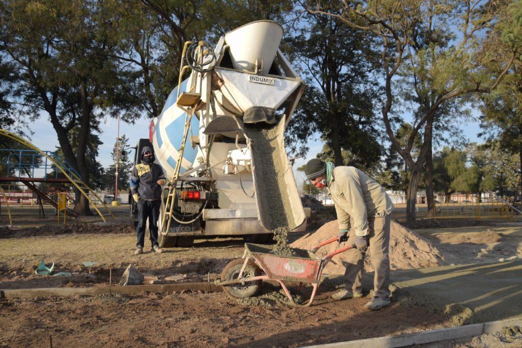 La gestión de Gustavo Benedetti inició la puesta en valor y jerarquización del parque Ingeniero Romero en Arroyito