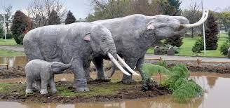 La Para inauguró el parque pleistocenico