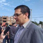 Graglia cruzó a la oposicion por las 66 viviendas de El Vallecito