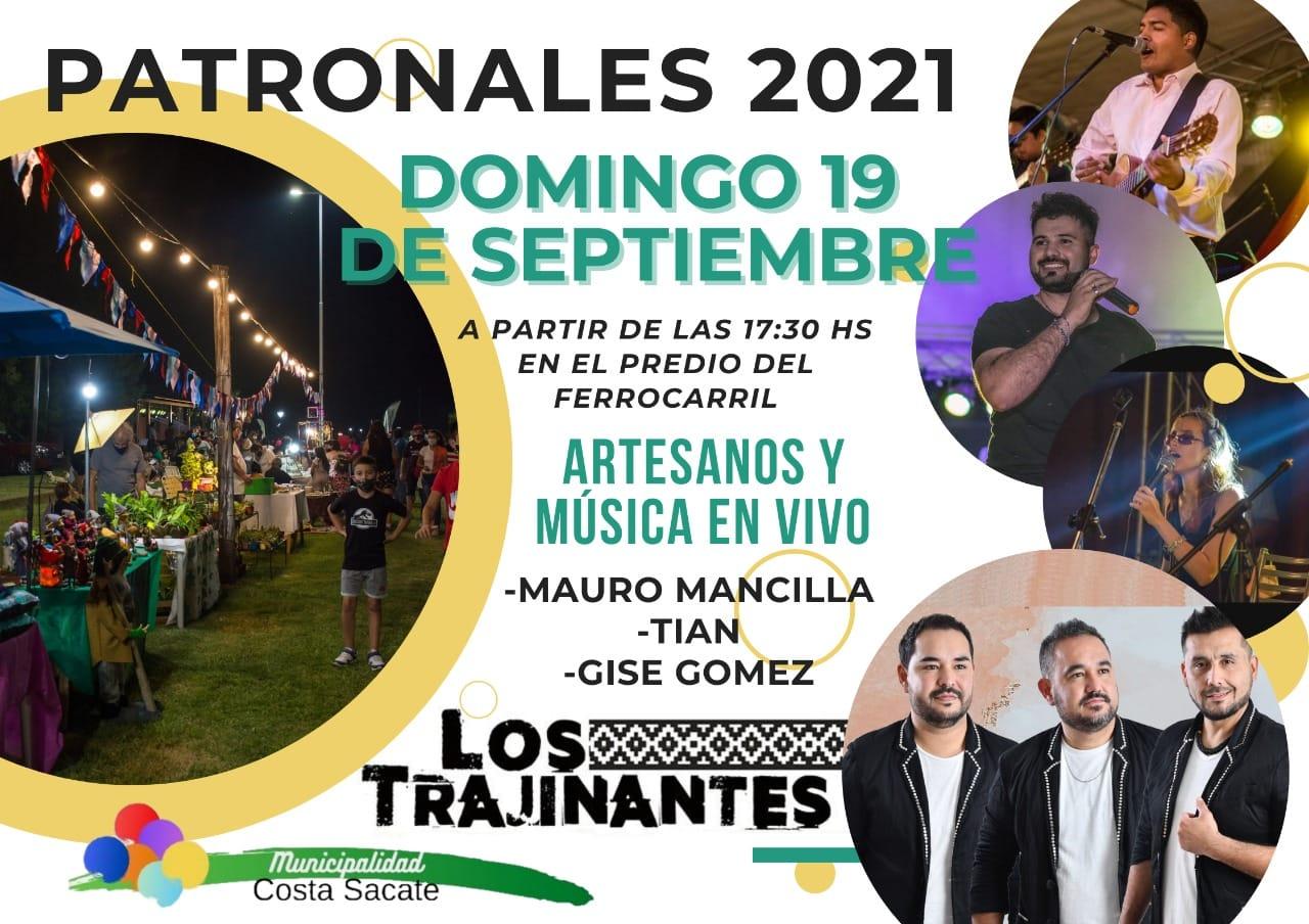 Fiestas patronales en Costa Sacate