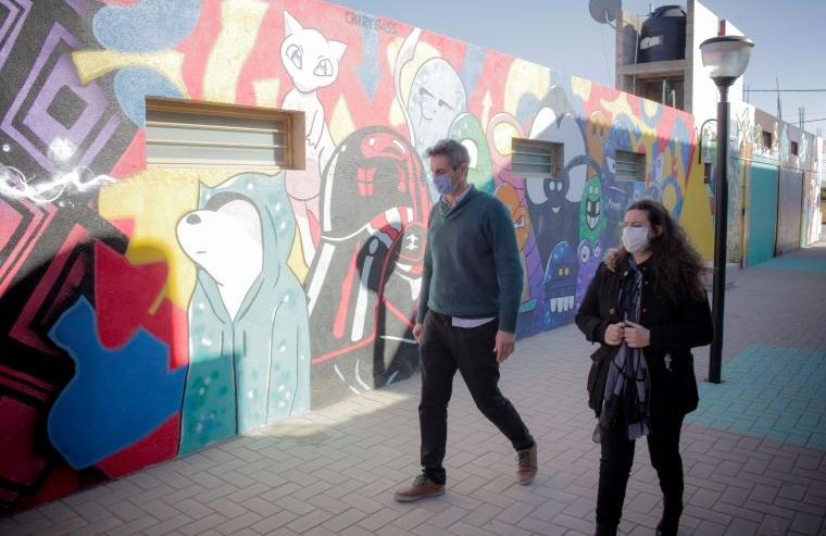 Monte Cristo: se inauguró el nuevo paseo de los artistas y artesanos