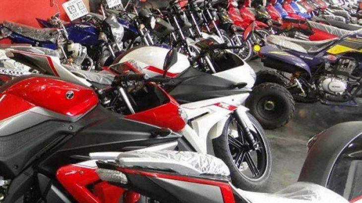 Incluye motos nacionales de hasta $250.000.
