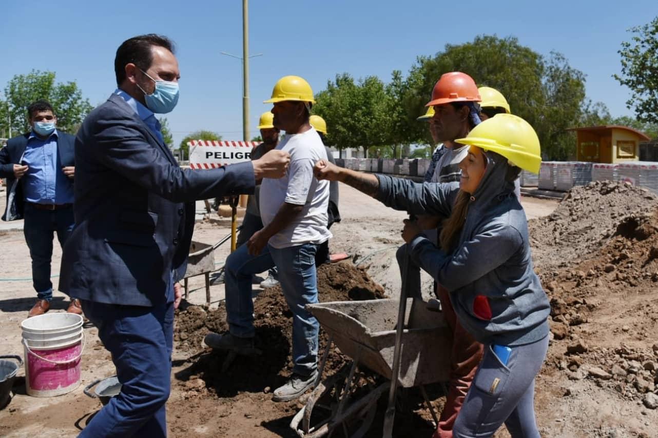 El gobierno nacional consruye 460 obras en la provincia de Córdoba